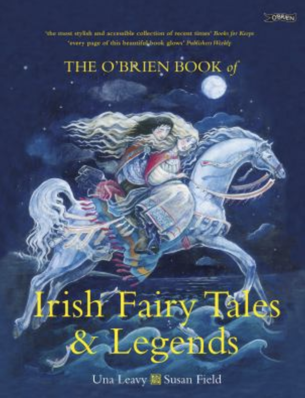 Book cover of Irish fables collection