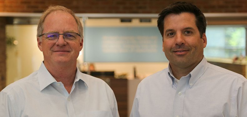 Newly appointed Co-Presidents of Imagine Learning: Bryan Sparks and Jeremy Cowdrey