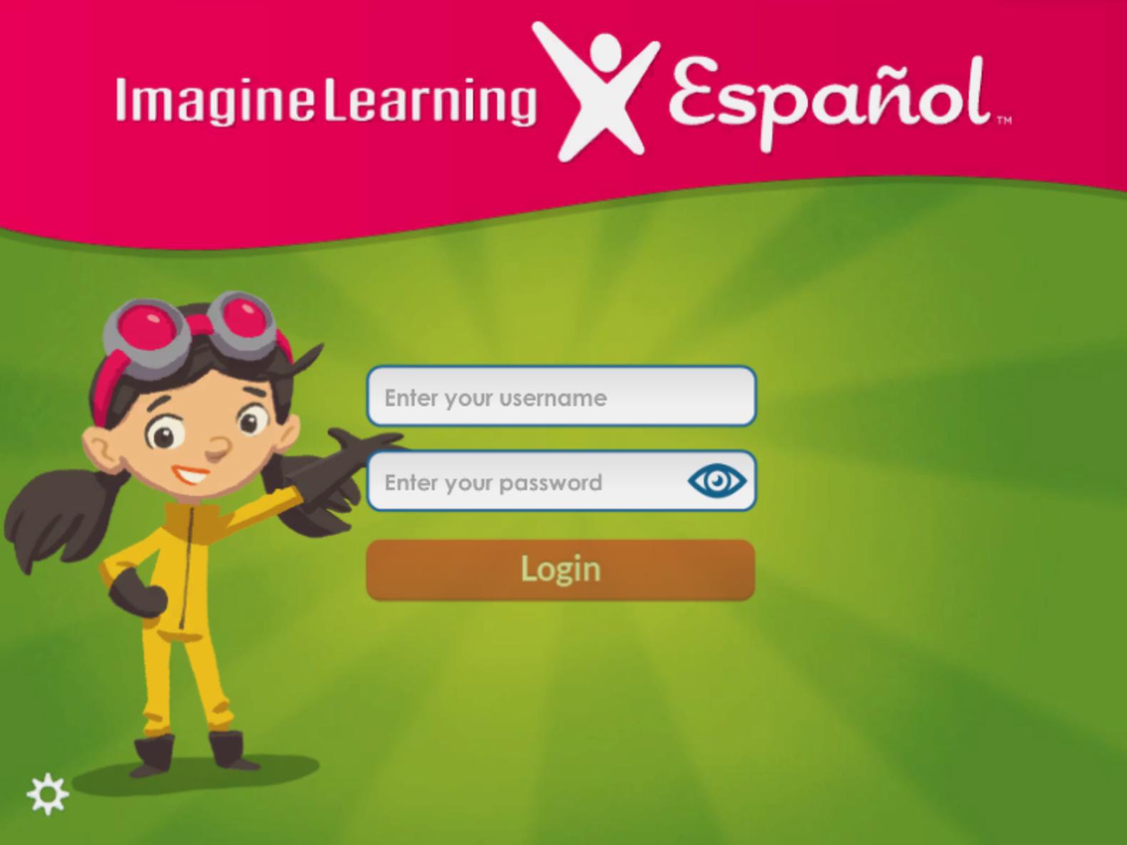 Imagine Español login